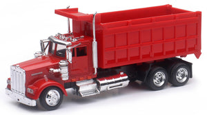 Kenworth W900 Dump Truck in Red