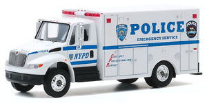 New York City Police Department NYPD 2013 International Durastar  Emergency Service  Truck Replica