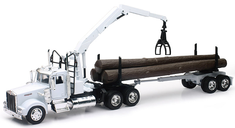 Kenworth W900 Tractor with  Log Truck