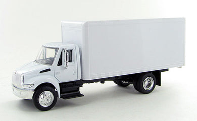 International 4200 White Box Truck