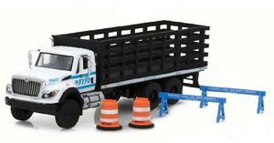 2017 International WorkStar Platform Stake bed Truck New York City Police Department