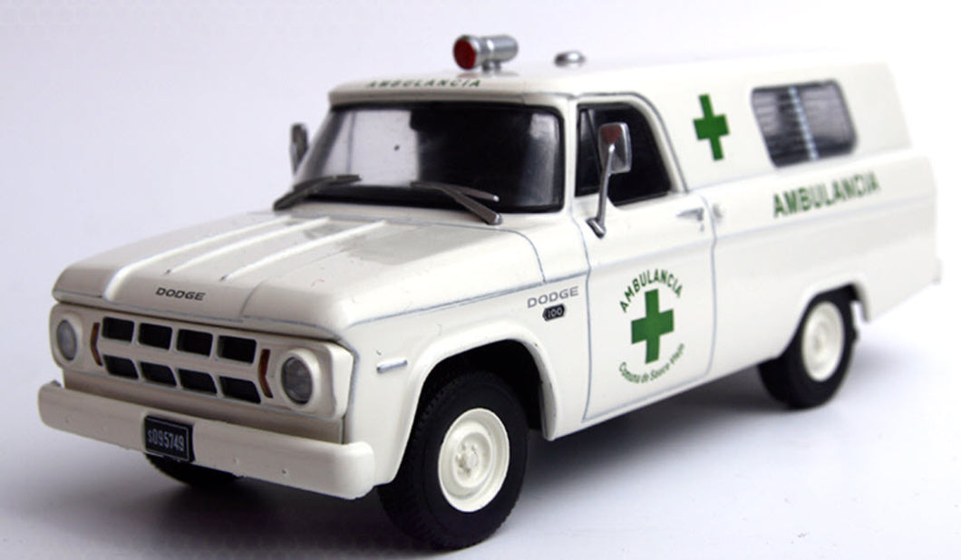 1967 Dodge D100 Ambulance Replica