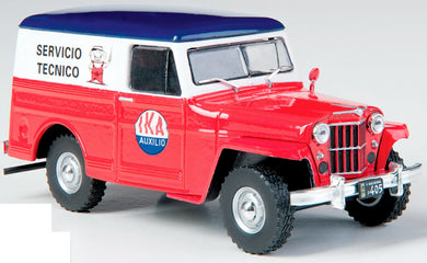1960 Willys Jeep Panel Truck Replica IKA