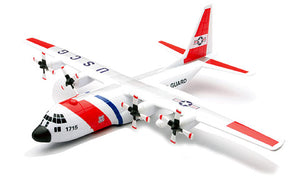 US Coast Guard Lockheed C130 Hercules Airplane