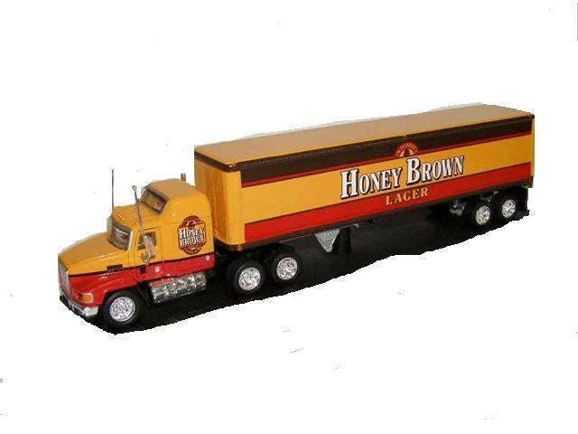CH Mack Honey Brown Tractor Trailer