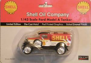 Ford Model A Shell Oil Tanker