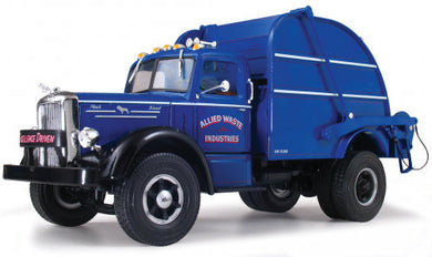 Allied Waste LJ Mack Rear Loading Garbage Truck