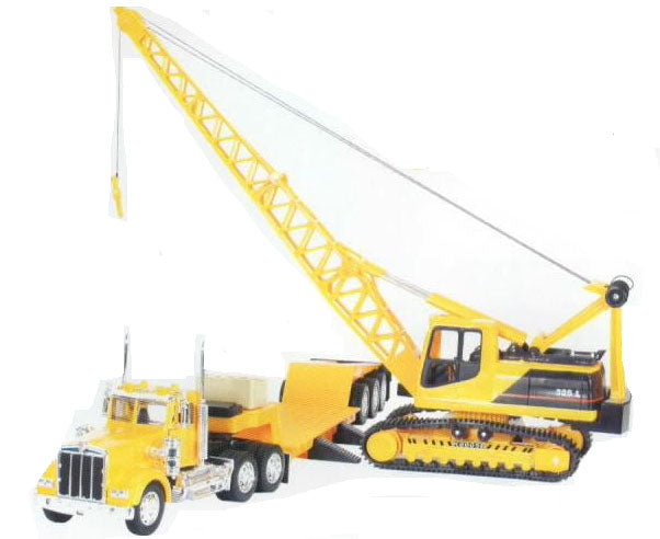 Kenworth Tractor with Lowboy and Excavator