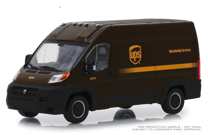 2018 UPS  RAM PROMASTER 2500 CARGO HIGH ROOF