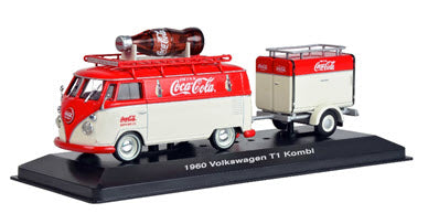 1960 Volkswagen T1 With Refrigerated  Trailer: Coca Cola