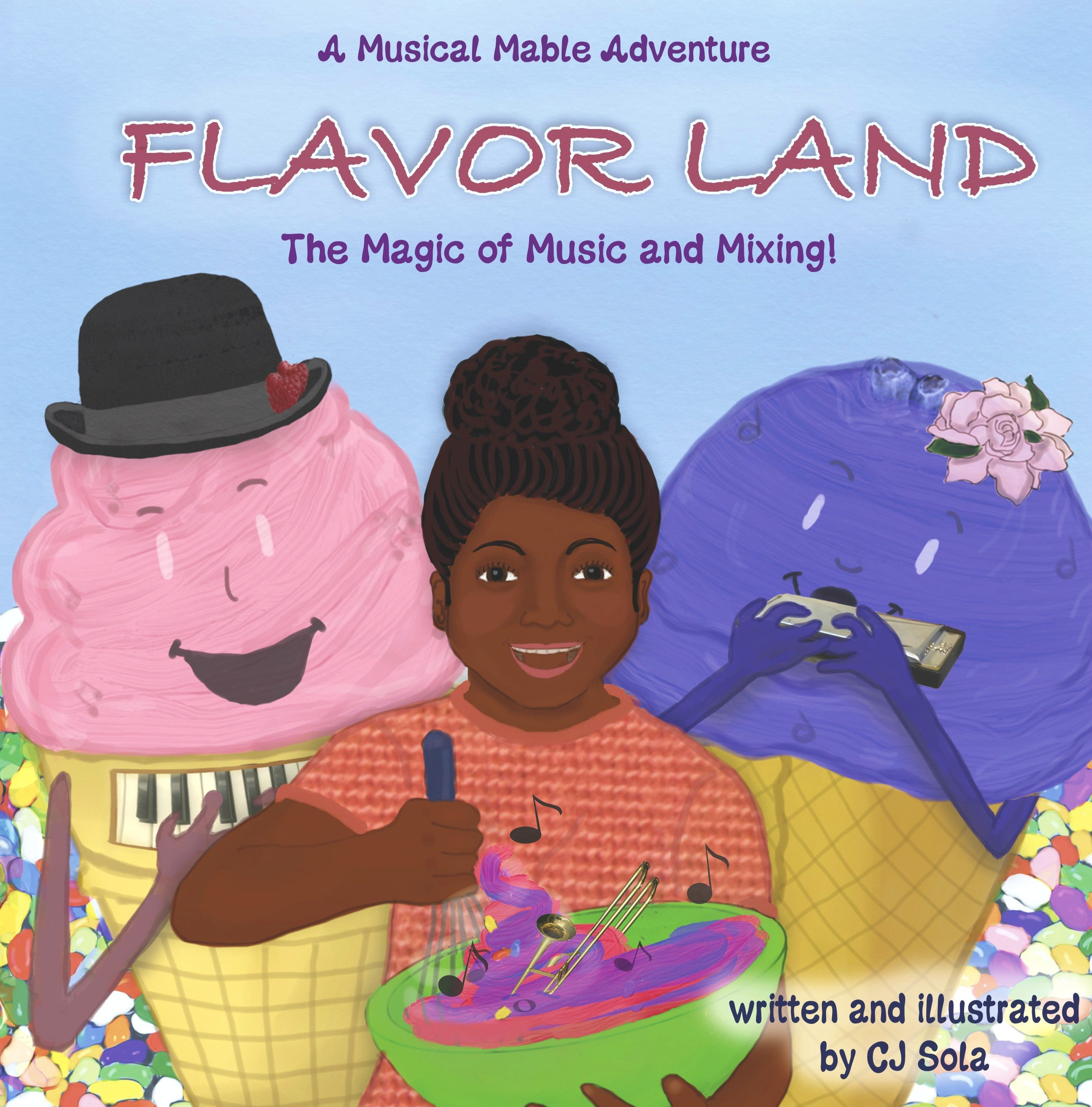 FLAVOR LAND : THE MAGIC OF MUSIC AND MIXING