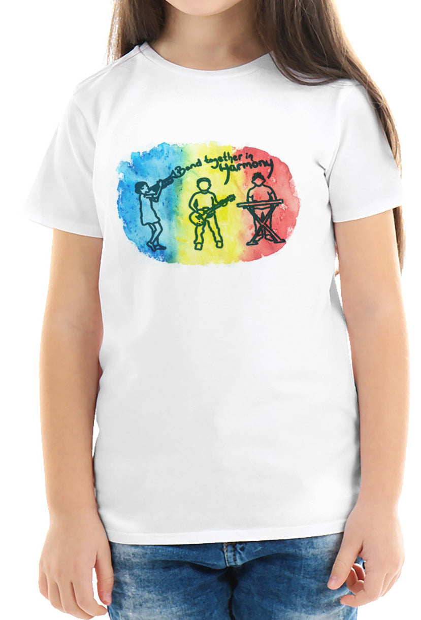 BAND TOGETHER IN HARMONY TEE [toddler]