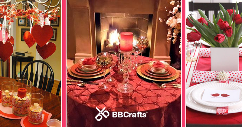 5 Valentine's Day Table Decoration Ideas to Impress Your Other Half