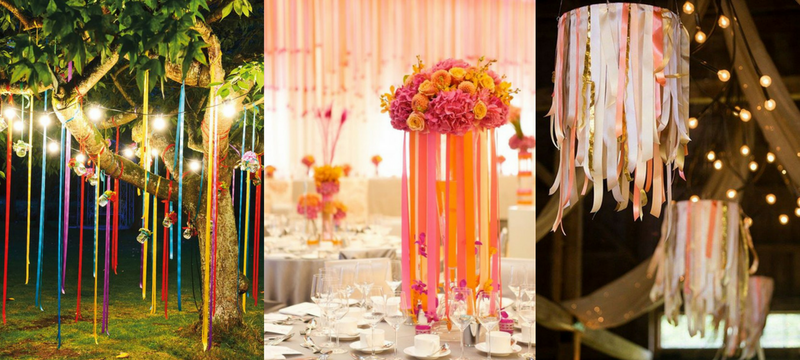 3 Fabric Ribbons You Can Use For Your Romantic Summer Wedding