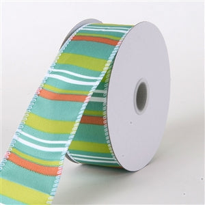 Satin Stripes Ribbons Wholesale