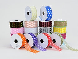 Organza Polka Dot Ribbon Wholesale
