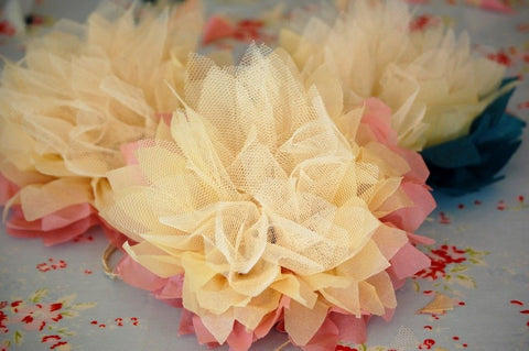 glimmer tulle bunch