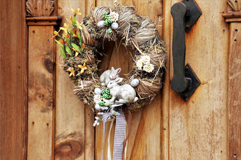 Wreath to Welcome Spring