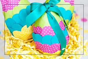 Easter Eggs Baskets