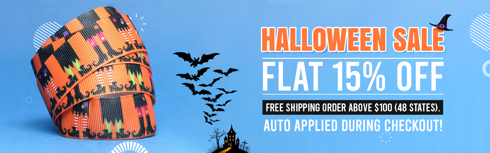 FLAT 15% OFF Sitewide | Free Shipping Order Above $100 (48 States)* Auto Applied During Checkout!