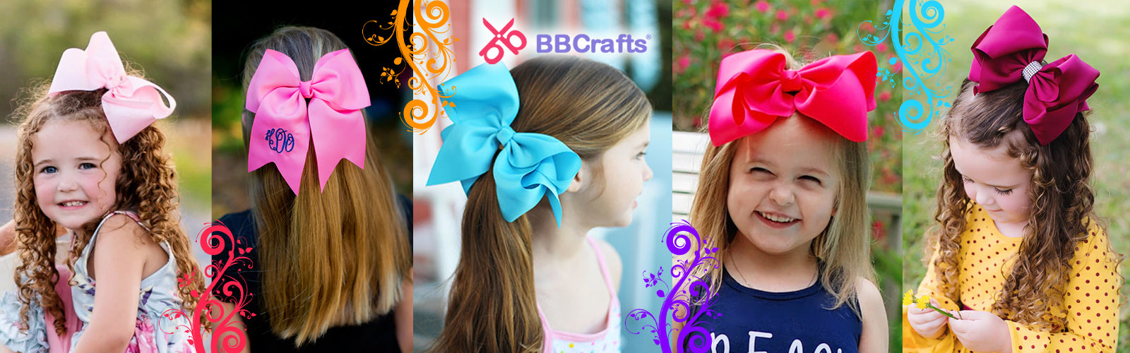 6 Chic and Easy to Make Hair Bows for Your Little Princess