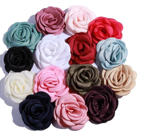 Make a Gorgeous Satin Fabric Flowers