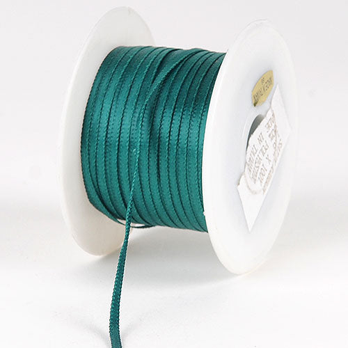 Jade - Satin Ribbon 1/16 x 100 Yards - ( W: 1/16 inch | L: 100 Yards )