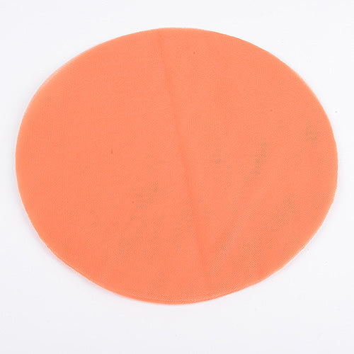 Orange - Premium Tulle Circle - ( 9 inch | 25 Pieces )