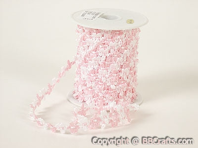Pink - Flower Braid - ( Unisize )