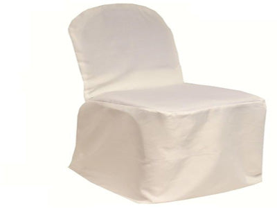 Ivory - Banquet Chair Cover Poly - ( Chair Cover )