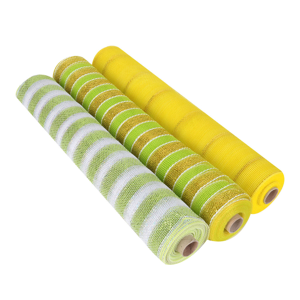Citrus Mesh Set - Pack of 3 ( 21 Inch x 10 Yards )