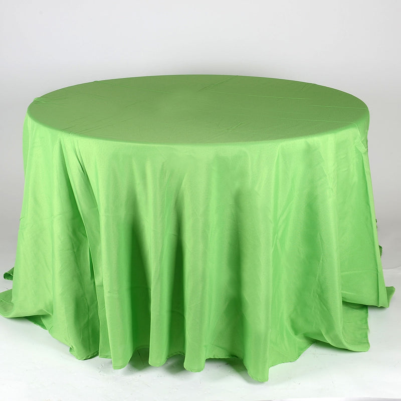 Apple Green- 120 Inch Round Tablecloths - ( 120 Inch | Round )