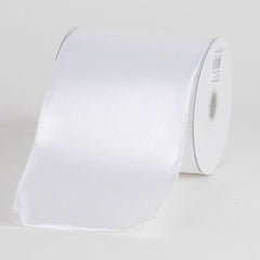Satin Ribbon 4 Inch Double Faced Wired