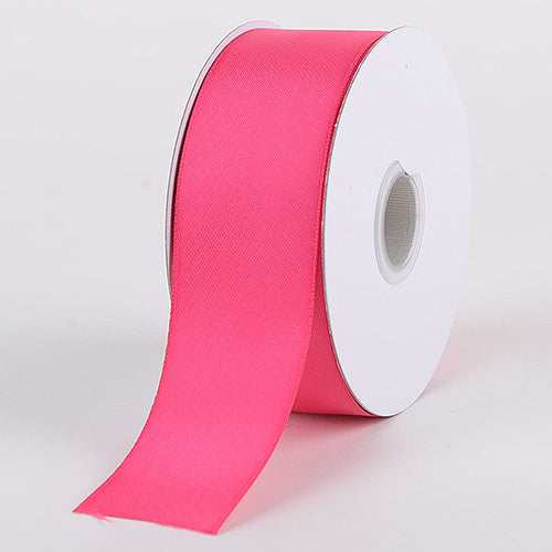 Fuchsia - Satin Ribbon Double Face - ( W: 3/8 Inch | L: 25 Yards )