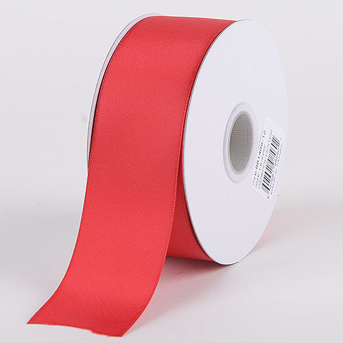 Red - Satin Ribbon Double Face - ( W: 5/8 inch | L: 25 Yards )