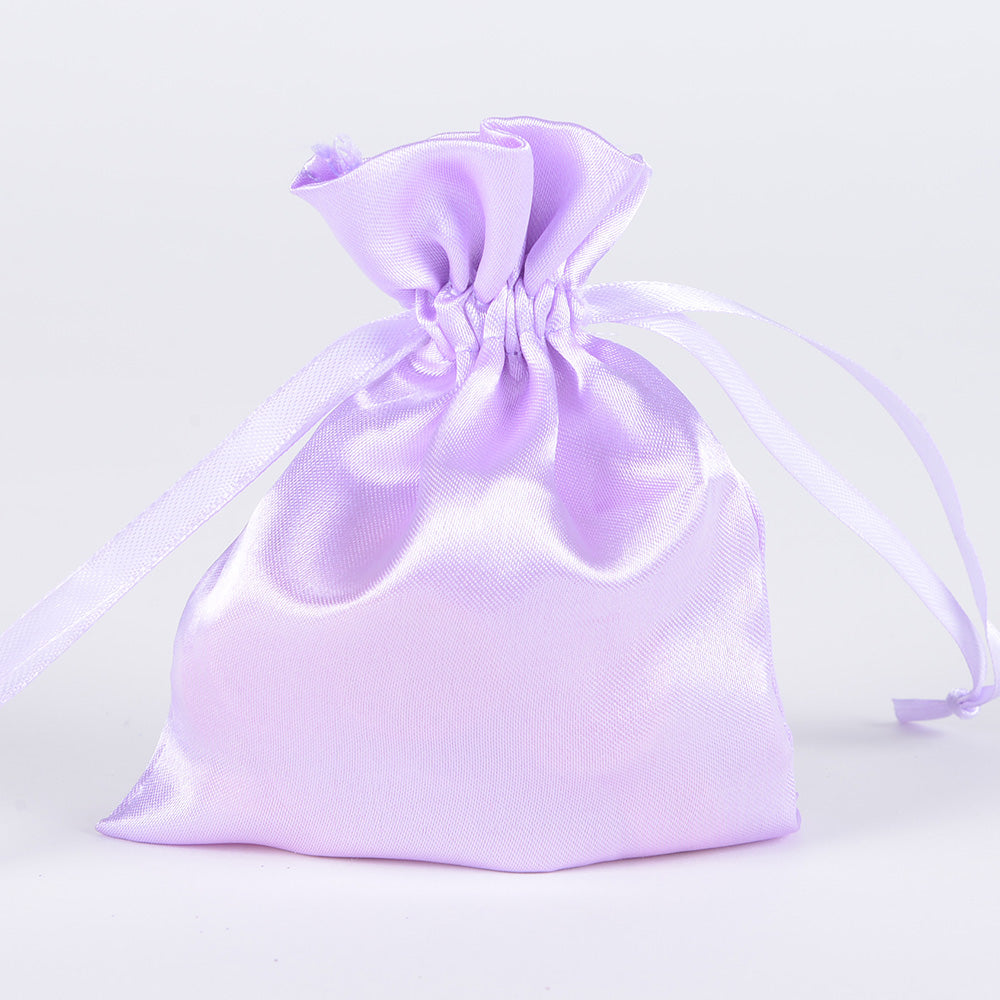 Lavender - Satin Bags - ( 3x4 Inch - 10 Bags )