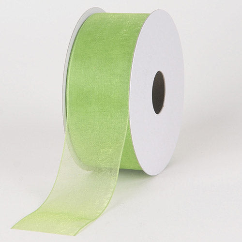 Kiwi - Sheer Organza Ribbon - ( 7/8 inch | 25 Yards )
