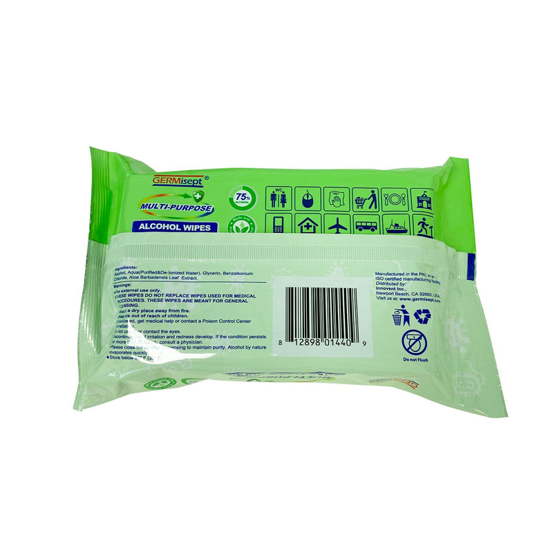 Daily Use Multi-Purpose 75% Alcohol Wipes - 86400 Wipes - Pallet Pricing