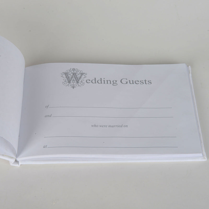 Wedding Guest Book Tan - 5668