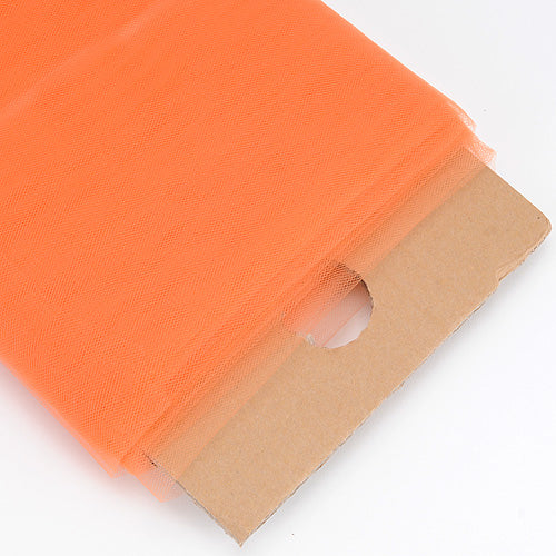 Orange 54 Inch Premium Tulle Fabric Bolt ( W: 54 inch | L: 40 Yards )