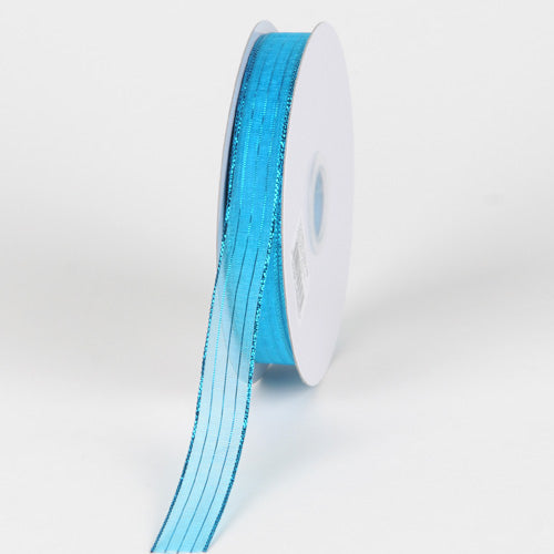 Turquoise - Corsage Ribbon - ( W: 3/8 inch | L: 50 Yards )