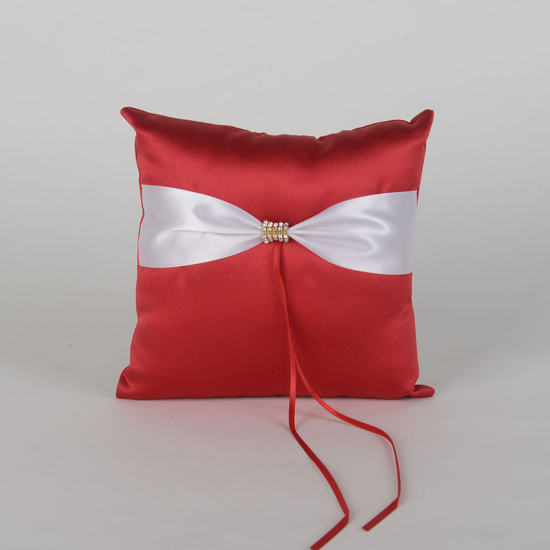 Ring Bearer Pillow Red ( 7 x 7 Inch ) - 5901