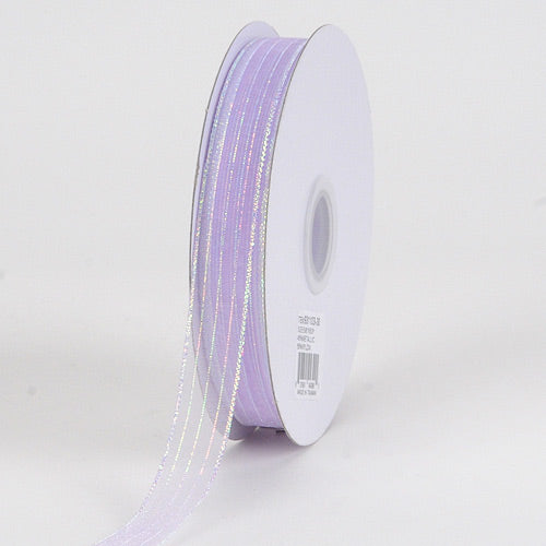 Corsage Ribbon Lavender Iridescent ( W: 5/8 inch | L: 50 Yards )