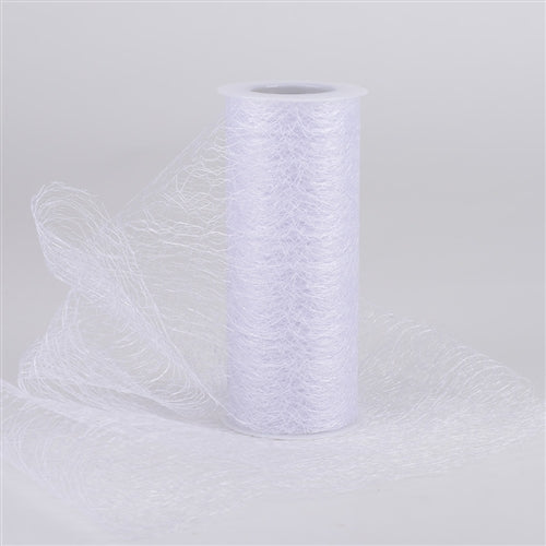 White - Sisal Mesh Wrap Rolls - ( 6 Inch x 10 Yards )
