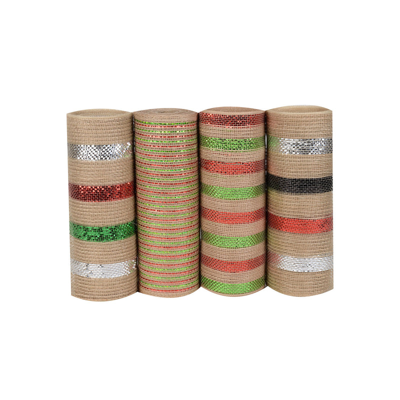 Cinco de Mayo Mesh Set - Pack of 4 ( 10 Inch x 10 Yards ) - PM001*YXB9271009*YXB92809*PM003