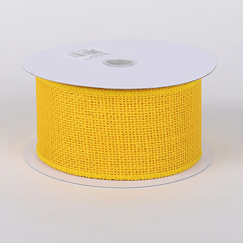 Daffodil - Burlap Ribbon - ( 2-1/2 inch | 10 Yards )