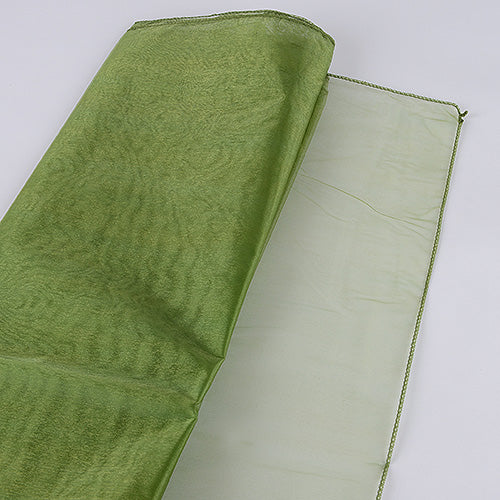 Moss - Wedding Organza Fabric Decor - ( W: 28 inch | L: 216 Inches )