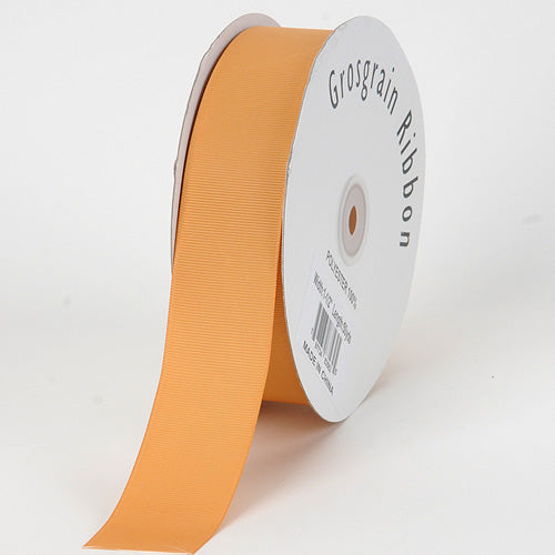 Old Gold - Grosgrain Ribbon Solid Color - ( W: 1-1/2 inch | L: 50 Yards )