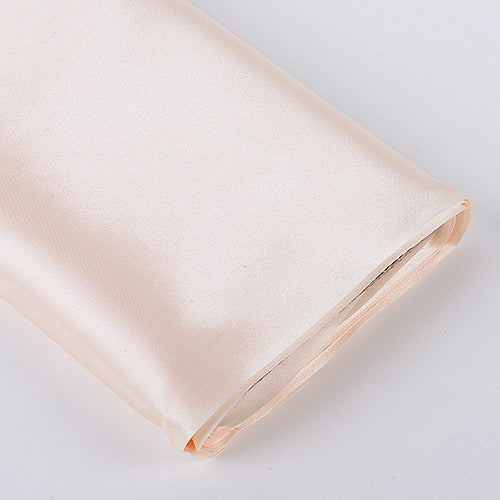 Ivory - Premium Satin Fabric - ( W: 60 inch | L: 10 Yards )