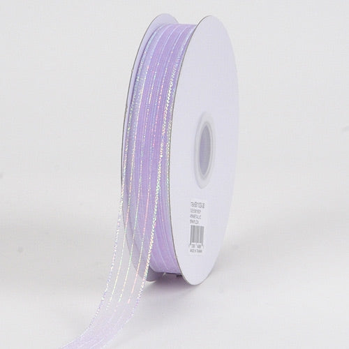 Corsage Ribbon Lavender Iridescent ( 3/8 inch | 50 Yards )